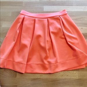 Honey Punch Bright Pink Skater Skirt in size large